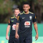 De volta à casa: Gabriel Jesus é esperança de gol em partida de logo mais no estádio do Palmeiras, seu ex-clube (Foto: Lucas Figueiredo/CBF)