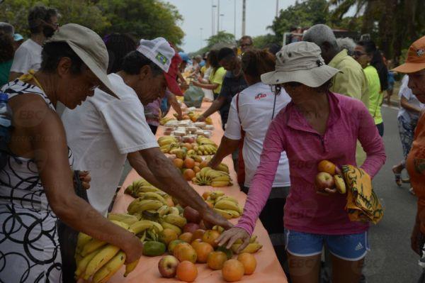 ONG Ação da Cidadania lança campanha Natal Sem Fome no Aterro do Flamengo, zona sul da capital fluminense (Tomaz Silva/Agência Brasil)