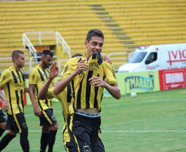 Pelo Voltaço, Diogo marcou somente um gol nesta temporada e agora vai vestir a camisa do America-RJ (Foto: Divulgação/Fair Play Assessoria)