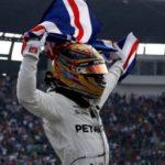 Tetracampeão: Lewis Hamilton chegou em nono e garantiu o quarto título de forma antecipada