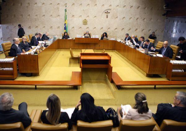 Acirrado: Com placar de 6 a 5, ministros entendem que Congresso precisa dar aval para afastar parlamentar (Foto: Nelson Jr./SCO/STF)