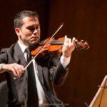 Violinista: Geovane Marquetti está de malas prontas para Porto Alegre (Foto: Divulgação)