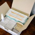 Kits para exames de saúde Papanicolau. Foto: Divulgação SESA