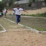 Esporte em ação: Provas de atletismo abriram a disputa do Jemupinho, em Pinheiral (Foto: Divulgação/Ascom PMP)