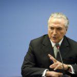 Michel Temer responde críticas feitas por Rodrigo Maia