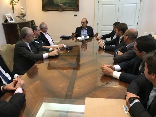 Segurança: Tutuca e Pezão conversaram com vereadores sobre combate ao crime em Angra dos Reis