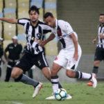 Nenê, do Vasco, marcou o único gol da partida diante do Botafogo (Foto: Paulo Fernandes/Vasco.com.br)