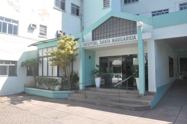 Em funcionamento: Antes de fechar, Santa Margarida era um dos maiores hospitais da cidade (Foto: Arquivo - 2013)