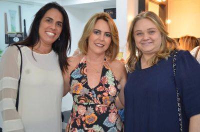 As empresárias Ana Lucia Cambraia Almeida, Adriane Reis Machado e Carolina Chedid Arbex