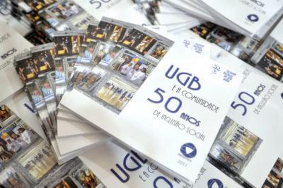 Livro comemorativo dos 50 anos do UGB