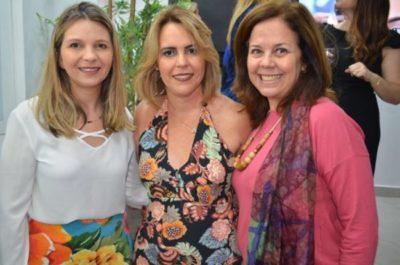 Alessandra Barbosa, Adriane Reis Machado e Marcia Val