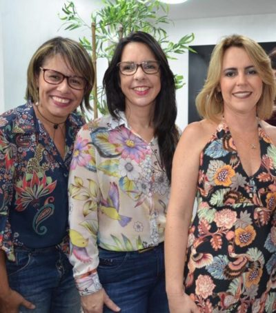Ludmila Alves, Karine de Oliveira e Adriane Reis Machado