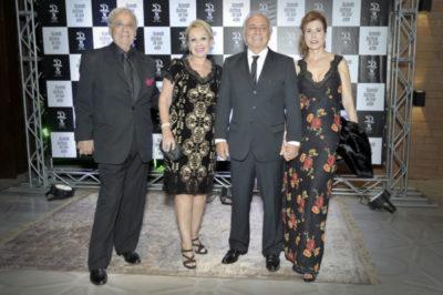 Sr. Rouben Bogossian - Vice Presidente da FERP  e esposa Elizabeth Di Biase, Dr. Geraldo Di Biase e Sra. Laura Breves