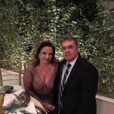 Os empresários Maria Auxiliadora de Ávila e Maurílio Marcelino, terão sua noite de ouro amanhã