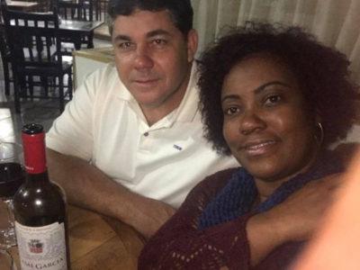 Os empresários Paulo Mapele e Michela Mapele, dupla comemoração neste domingo