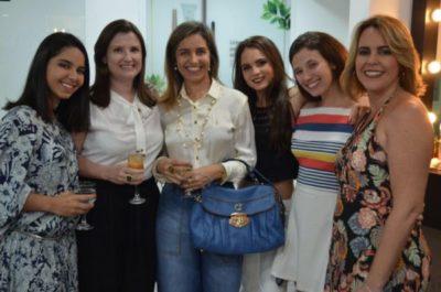Julia São Thiago, Jussara Adário, Adriana Prado São Thiago, Bruna Reis Machado, Maria Eduarda Adário e Adriane Reis Machado