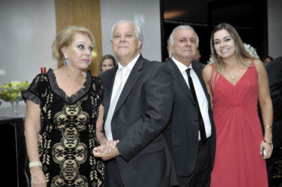 Elizabeth Di Biase, Alexandre Dantas, Dr. Geraldo Di Biase e Marcella Di Biase