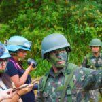 Preparação: ECAM tem como objetivo inserir os acadêmicos e profissionais formados em comunicação social no contexto militar (Foto: Divulgação/Fabrício Araújo)