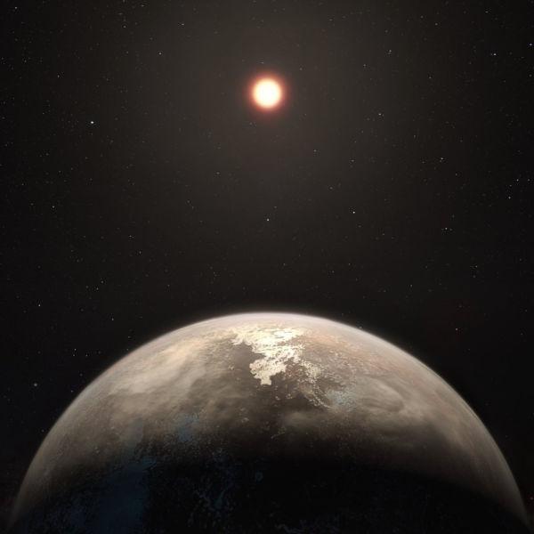 Pacífico: Ross 128 b e seu pálido sol vermelho