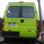 Apreendida: Com documentação atrasada e pneus carecas, veículo foi removido para o pátio do posto Caiçara da Polícia Rodoviária Federal (Foto: Cedida pela PRF)