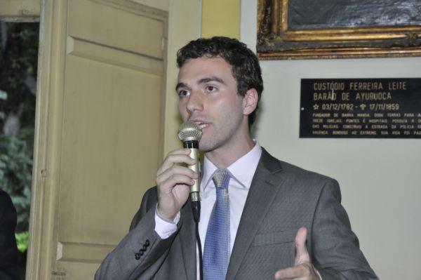 Daniel Volpe Maciel: 'Quero constatar que a emenda já é regulada pela lei complementar' (Foto: Arquivo)