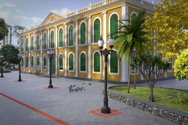 Rodrigo Drable assina contrato para reforma do Palácio Barão de Guapy - Diário do Vale