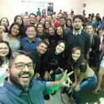 Biomédico: Fredson Serejo viaja por todo o Brasil fazendo palestras e auxiliando concurseiros (Foto: Divulgação)