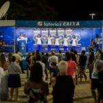 Volta Redonda recebeu caminhão que faz sorteio das loterias federais