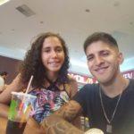 """Valdinor Pires de Paula Ferraz, 20 anos, o """"Val"""", e Aline Vicente Morais, 17, eram namorados (Foto: Reprodução Facebook)"""