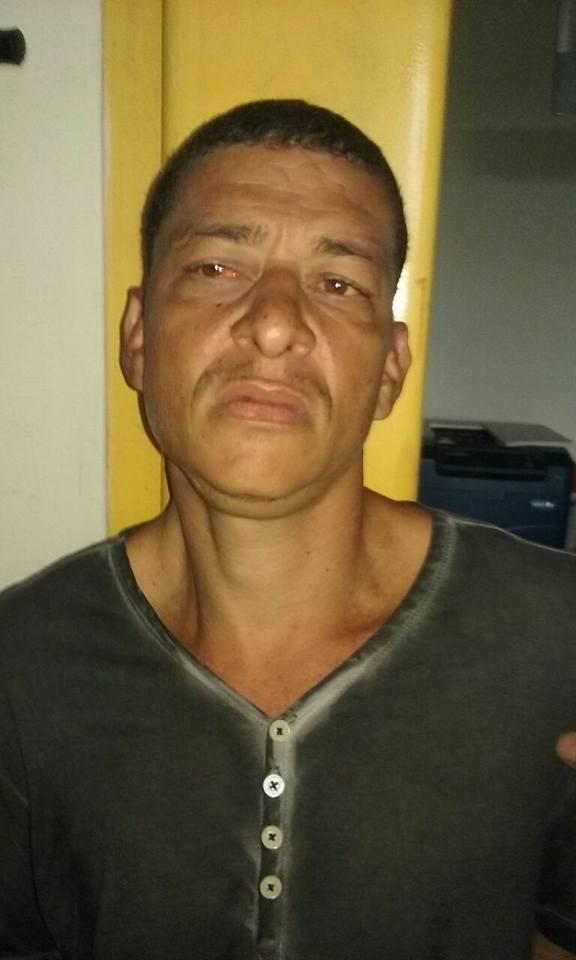 Segundo a PM, Oziel teria tentado subornar policiais para evitar a prisão dele e da mulher (Foto: Cedida pela PM)