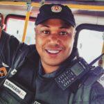 Policial morreu depois de tentar impedir um assalto a um posto de combustível em Barra Mansa (Foto: Reprodução Facebook)