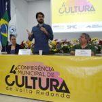 Presença: Conferência Municipal de Cultura teve a participação da Banda Municipal regida pelo maestro Reinaldo Galvão (Foto: Evandro Freitas/Secom)