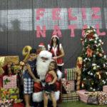 Espalha: Projeto levou um pouco da magia do Natal para os bairros de Volta Redonda (Foto: Divulgação)