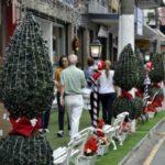 Otimistas: Comerciantes estão esperançosos com as vendas de Natal (Foto: Paulo Dimas)