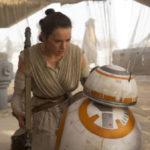 Astro: BB-8 com uma atriz coadjuvante