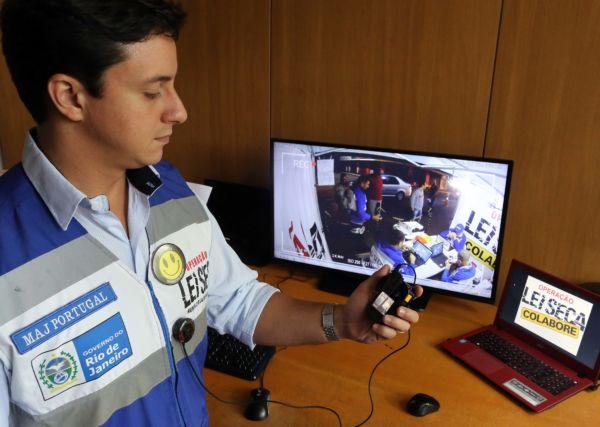 As imagens geradas são monitoradas, em tempo real, por uma Central 24 horas que funciona no prédio Anexo do Palácio Guanabara (Foto: Divulgação)