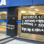 Possível negociação da Caixa Econômica é tema de protesto dos bancários