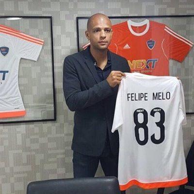 Felipe Melo é também empresário no ramo esportivo