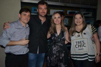 Dimitri Nápoli, Wesley Trão Pereira, Renata Nolasco Nápoli e Fernanda Baião Miranda