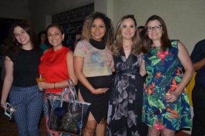 Maria Eduarda Adário, Cátia Vianna, Priscila Cruz, Renata Nápoli e Jussara Adário
