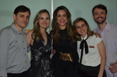 Dimitri Nápoli, Renata Nápoli, Luciana Mendonça, Raphaela Nolasco e Emmanuel Nolasco