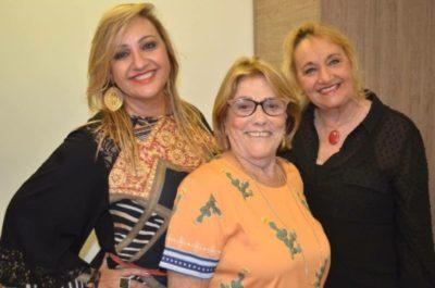 Ana Paula Delgado, Cirilla Alcon Delgado e Mercês Brandão