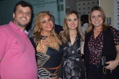 Felipe Amarante, Ana Paula Delgado, Dra Renata Nolasco Nápoli e Silvia Leijoto