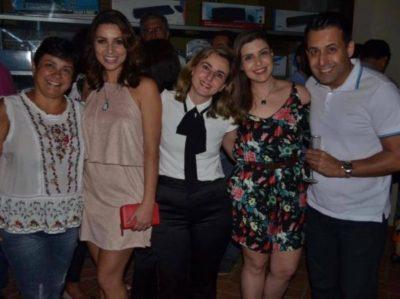 Vanessa Perota, Suian Reis, Raphaela Nolasco, Domingos e Camila Cotta