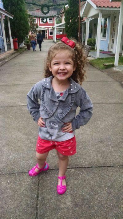 Apoio: Pequena Alice será lembrada em campanhas para ajudar entidades assistenciais