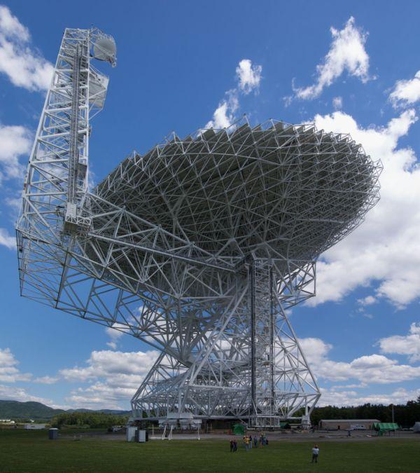 Pesquisa: Antena de Green Bank apontou para o Oumuamua