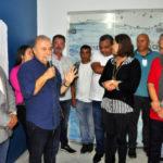 Cerimônia: Inauguração da unidade foi realizada na última terça-feira; estação de análise da água funcionará no CEA (Foto: Wagner Gusmão/Ascom PMAR)