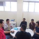 Troca de informações: Dinho conversa com dirigentes do MBL