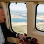 Temer observa área que será novo polo econômico do Brasil