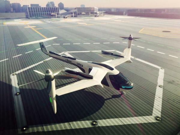 Projeto: O Elevate da Uber parece um helicóptero